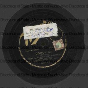 Image from object titled Cotton tail ; Flamingo / Ellington, Strayhorn, 2 pianoforti ; W. Marshall, basso