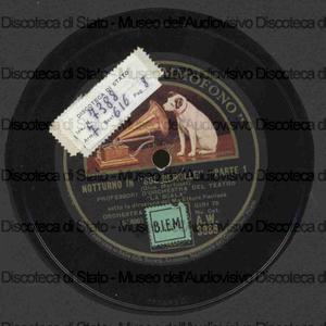 Image from object titled Notturno in sol bemolle / Martucci ; Orch. Teatro La Scala ; Panizza, direttore