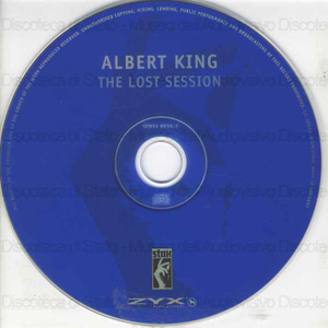 Image from object titled The lost session / Albert King