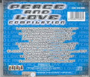 Image from object titled Peace and love compilation / B. Dylan, P. Asher, B. McFerrin ...[et al.]