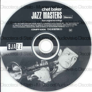 Image from object titled Jazz masters : from original recordings / Chet Baker