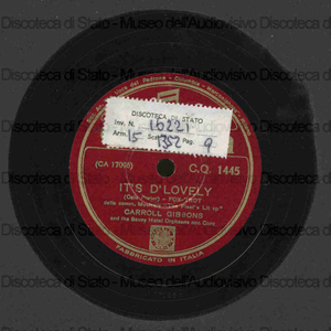 Image from object titled It''s d''lovely ; Music maestro please / Carrol Gibbons and Hotel Orpheans con coro
