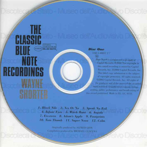 Image from object titled The classic Blue Note recordings / Wayne Shorter
