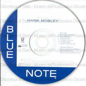 Image from object titled Roll call / Hank Mobley
