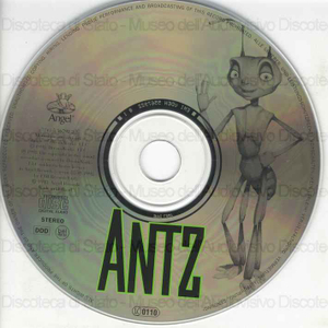 Image from object titled Antz : Original film music / Harry Gregson-Williams ; John Powell ; direttore del coro: Rupert Gregson-Williams ; direttore d'orchestra: Gavin Greenaway