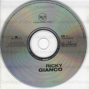 Image from object titled I Grandi successi originali . Ricky Gianco