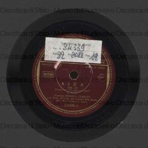 Image from object titled Aida : O cieli azzurri ; Otello : Ave Maria / G. Verdi ; R. Tebaldi, soprano ; A. Votto, direttore