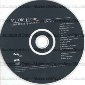 Image from object titled My old flame : vol. 3 / Chet Baker Quartet