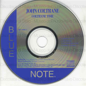 Image from object titled Coltrane Time / John Coltrane ; Kenny Dorham ; Cecil Taylor ; Chuck Isreals ; Louis Hayes
