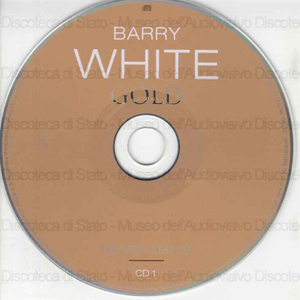 Image from object titled Barry White gold : The very best of