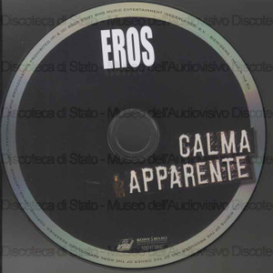 Image from object titled Calma apparente / Eros Ramazzotti