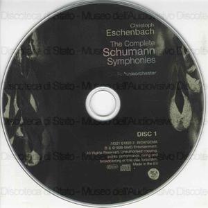 Image from object titled The Complete Schumann Symphonies / Robert Schumann ; NDR-Sinfonieorchester ; Christoph Eschenbach, conductor