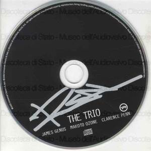Image from object titled The Trio / James Genus, Makoto Ozone, Clarence Penn