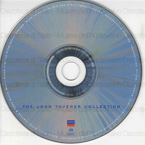 Image from object titled The John Tavener collection / Stephen Layton, conductor ; The Choir of the Temple Church, The Holst Singers, Natalie Clein, cello ... [et al.]