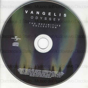 Image from object titled Odyssey : the definitive collection / Vangelis