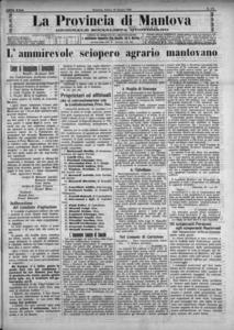 Image from object titled La Provincia di Mantova : giornale della democrazia (1908:A. 22, giu., 20, fasc. 172)