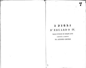 Image from object titled Torvaldo e Dorliska : melodramma semiserio in due atti