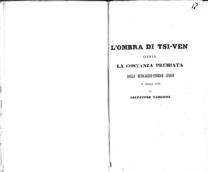 Image from object titled Le due illustri rivali : melodramma in tre atti