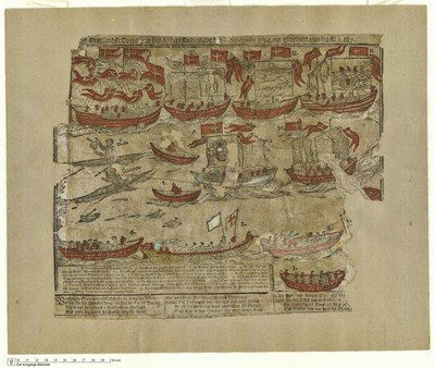 Det Grønlandske Optog' som blev holdet i Kiøbenhavn den 9. Novembr. 1724. om Eftermiddagen fra Kl. 2. til 7