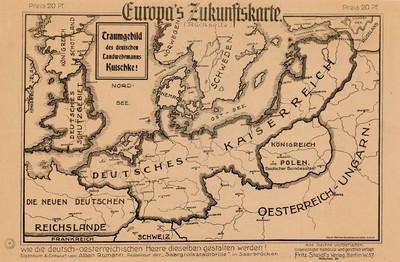 Europas Zukunftskarte
