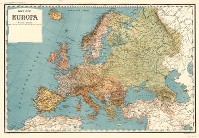 Kort Over Europa
