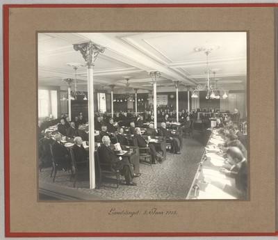 Landstinget: 3. Juni 1915 - Vedtagelse af Grundloven af 1915