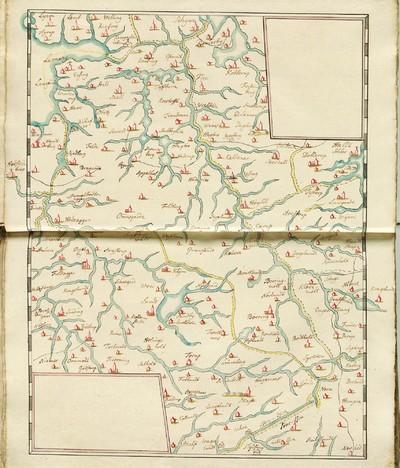 60 tegnede Karter over danske Provindser, paa meget faae nær alle af Joh. Meyer, copierede af Jac. Langebek.