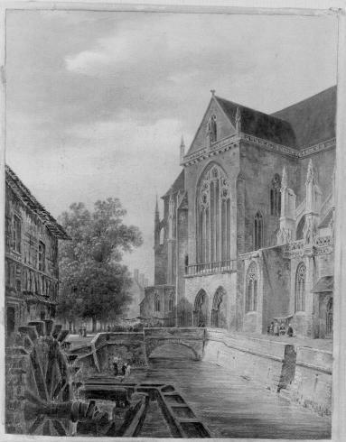 La collégiale de Colmar en Alsace