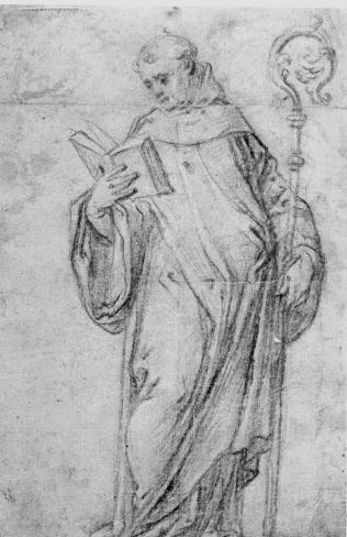 Saint Benoît ou Saint Bernard (?)