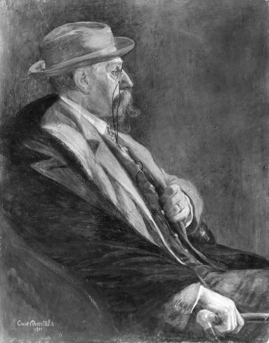 Portret van Emile Verhaeren