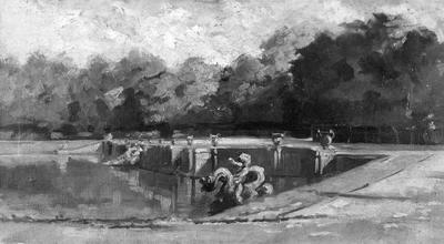Neptunusvijver te Versailles