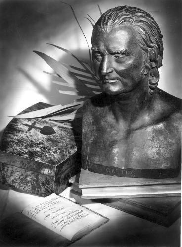 Buste d'André Ernest Modeste Grétry, compositeur (1741-1813)