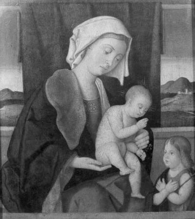 Vierge à l'Enfant avec saint Jean-Baptiste enfant
