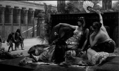 Cleopatra laat op ter dood veroordeelden gif beproeven
