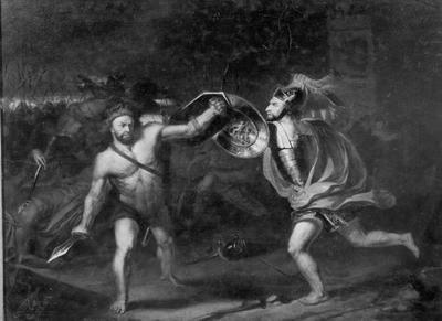 Combat sous les murs de Troie