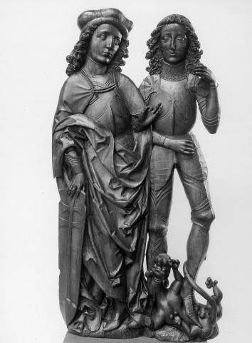 Saint Georges et saint Emeric