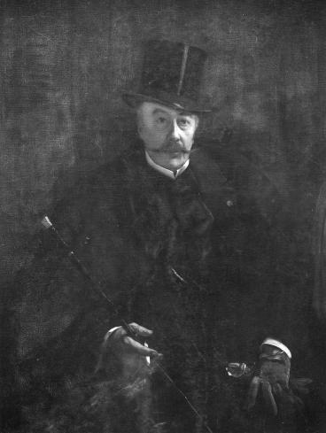 Portret van de schilder Alfred Stevens