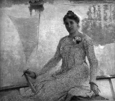 Portret van mevrouw Anna de Weert