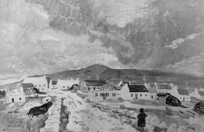 "Paysage d'Irlande (ou ""Soir de Dooagh"")"