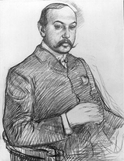 Portret van Francis Viélé-Griffin