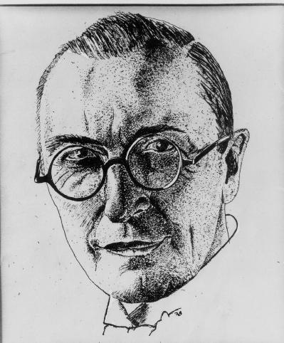Portret van Herman Teirlinck