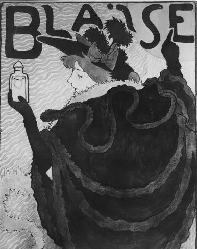 """Image from object titled Project voor affiche """"Blaise"""""""