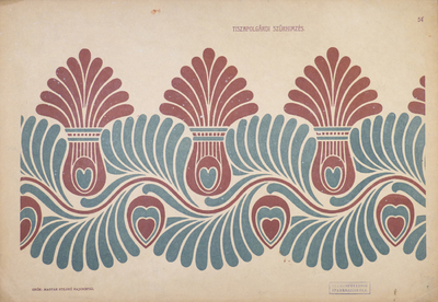 Image from object titled Hungarian Ornamental Motifs from Tiszapolgár