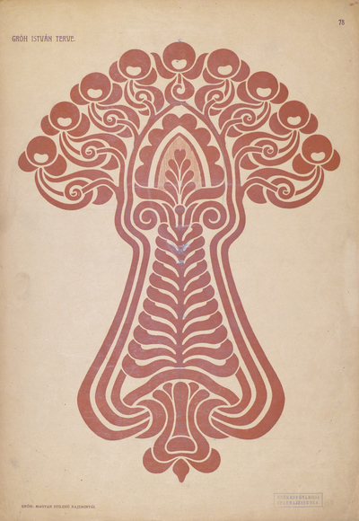 Image from object titled Hungarian Ornamental Motifs. Design: István Gróh