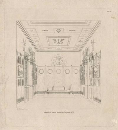 Schlafzimmer, Blatt 36 aus einer Folge