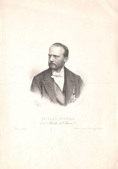 Portrait von Carl Giskra