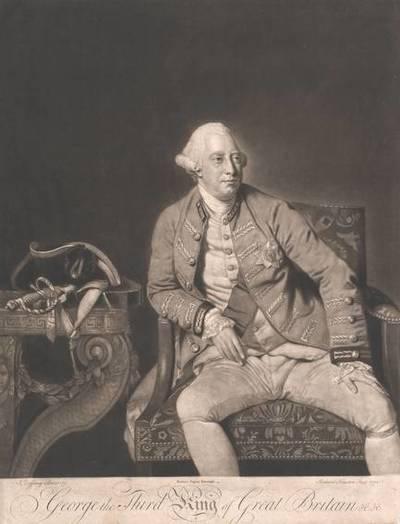 George III., König von Großbritannien, nach Johann Zoffany (gemalt 1771), herausgegeben von Robert Sayer