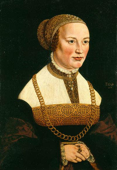 Bildnis Martha Ehinger, geb. Rehm (1516-1567)
