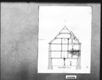 Image from object titled Längsschnitt eines Hauses [nicht von Schickhardt?]