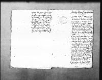 Image from object titled Gutachten über das Flößen bei Enzklösterle von M. Johann Öttinger, geschrieben von Schickhardt (3 Folio)